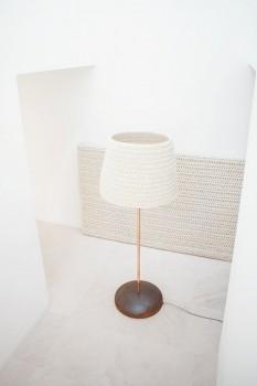 Woolthing lamp en wand